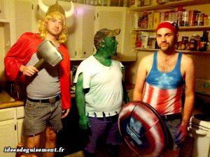 Vengadores Avengers - Ideas originales de disfraces trajes ropas de peliculas