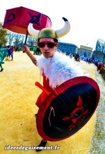 Vikingo comunista - Ideas originales de disfraces trajes ropas insolitos