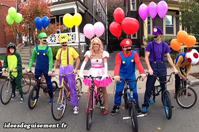 Disfraces muy originales de Mario Kart globos