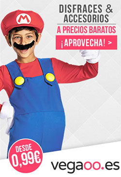 Disfraces y accesorios baratos con Mario